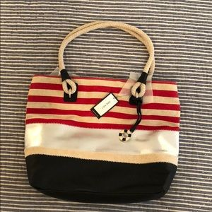 "Nine West nautical ""Paige"" shoulder bag"